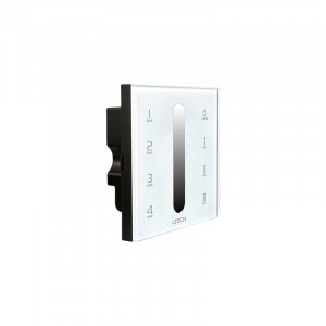 Arc LED DX5 4 Zone Dimming Touch Panel (White)