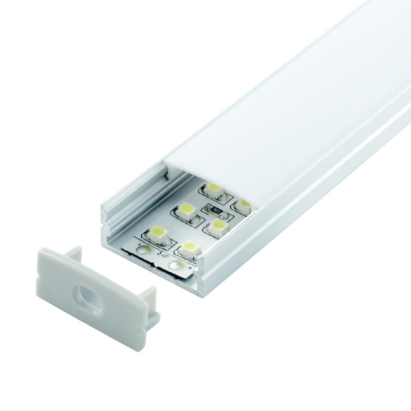 Porch Light Dsm: Arc LED Double Width Led Profile, Led Aluminium Profile