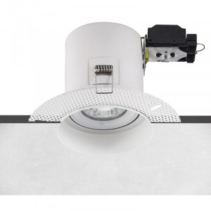 Arc LED Plaster-in Fire Rated GU10 LED Downlight (White)