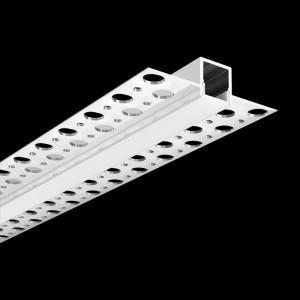 ARC-PB-3M 3 Metre Plaster-In Flush Mounted Aluminium LED Profile