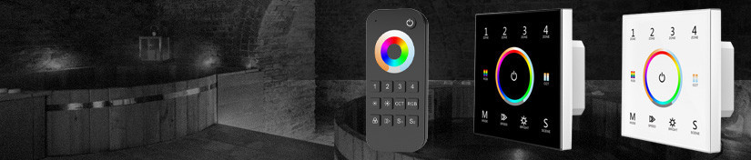 RGB+CCT Controller, Wall Switch Panel & Remote Control | ArcLED
