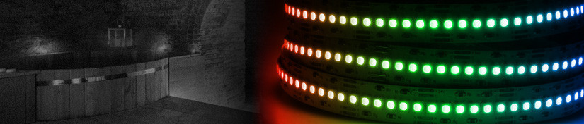 RGB LED Tape, Colour Changing Light Ribbon Strips | ArcLED UK