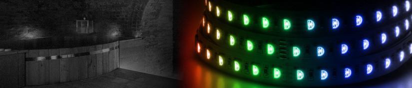 RGBW LED Tape, RGBWW 24v Lighting Ribbon Strips | ArcLED UK