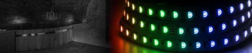 RGBW LED Tape, RGBWW 24v Lighting Ribbon Strips | ArcLED UK