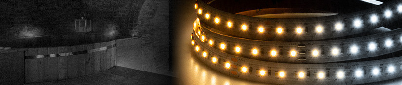 Colour Temperature Changing LEDs, Dual White CCT Tape | ArcLED UK