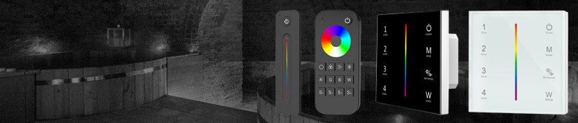 RGB Colour Controllers, LED Light Remote Controls | ArcLED UK