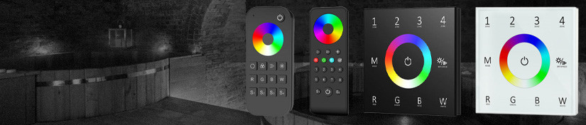 RGBW LED Controllers, Wall Switch & Strip Remotes | ArcLED UK